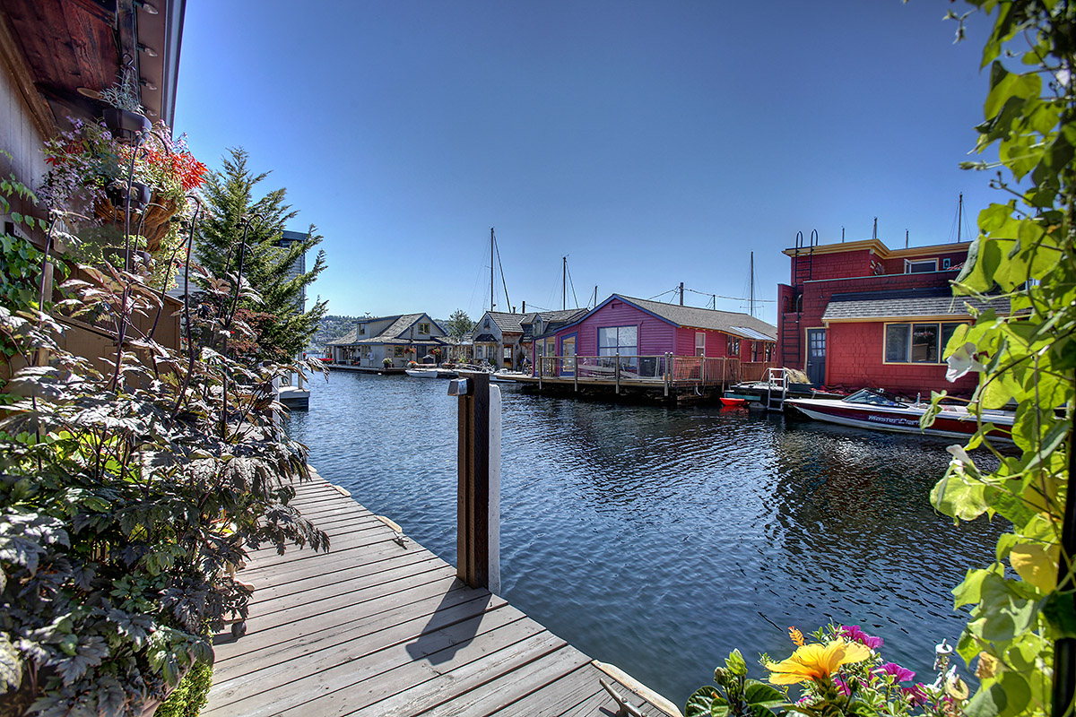 Seattle Floating Homes For Sale